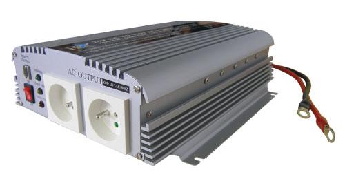 Měnič napětí 12V/230V 1500W  CZ