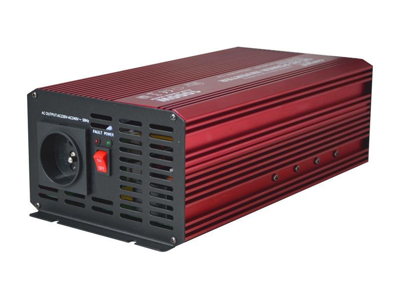 CARSPA 12V/230V+USB 1000W sinusovka