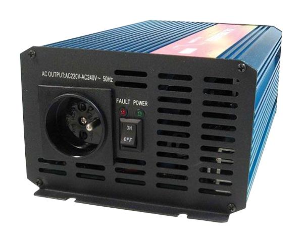 Měnič napětí 24V/230V 1000W CZ čistá sinusovka  CARSPA