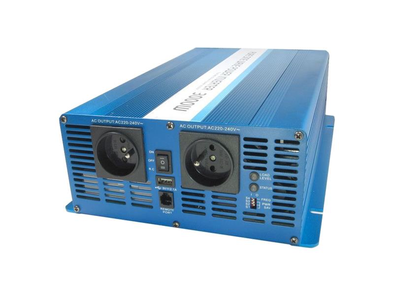 Měnič napětí CARSPA SK3000 12V/230V 3000W čistá sinusovka
