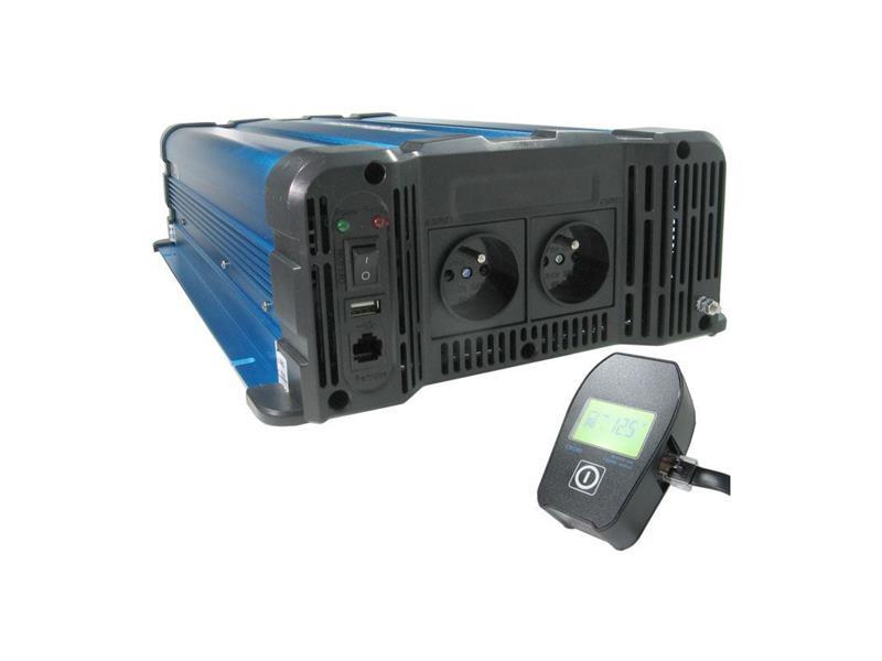 Měnič napětí Solarvertech FS4000-212 12V/230V 4000W čistá sinusovka