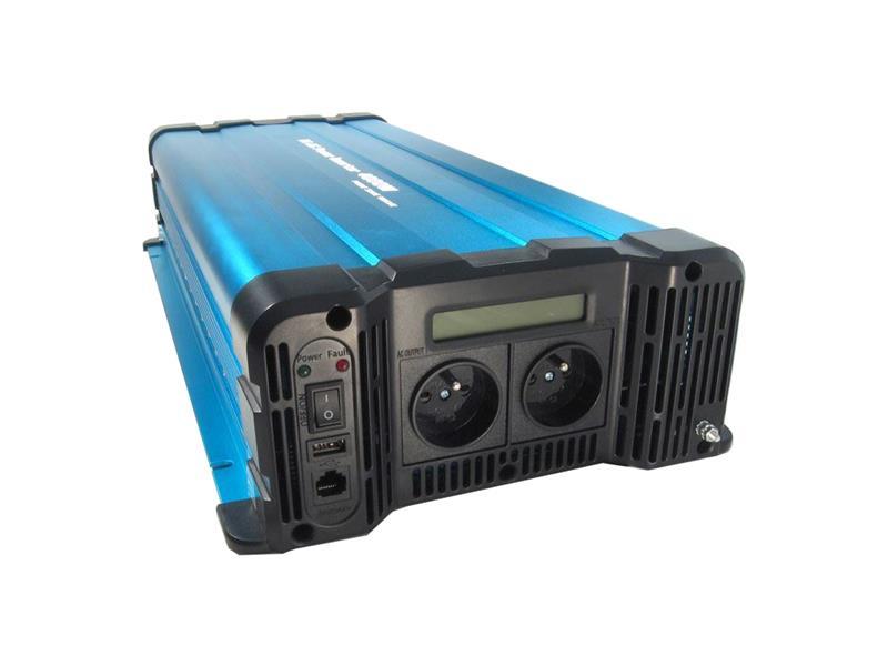 Měnič napětí Solarvertech FS4000-224 24V/230V 4000W čistá sinusovka