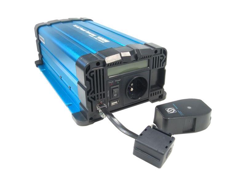 Měnič napětí Solarvertech FS1000 12V/230V 1000W čistá sinusovka D.O.