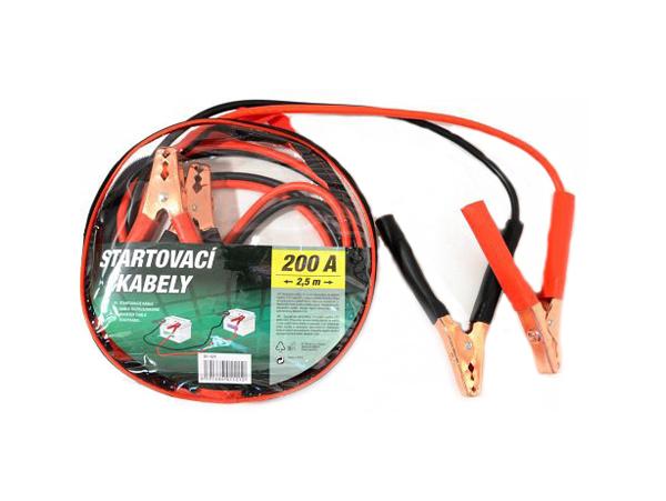 ZIPPER BAG startovací kabely 200A 2.5m 10mm