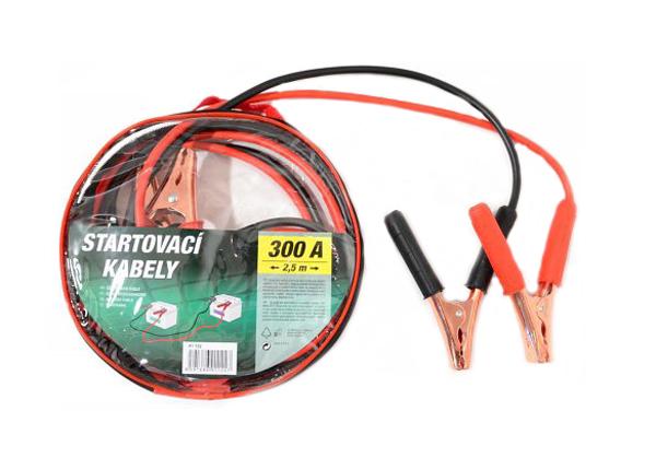 Kabely startovací 300A 2,5m COMPASS 01122