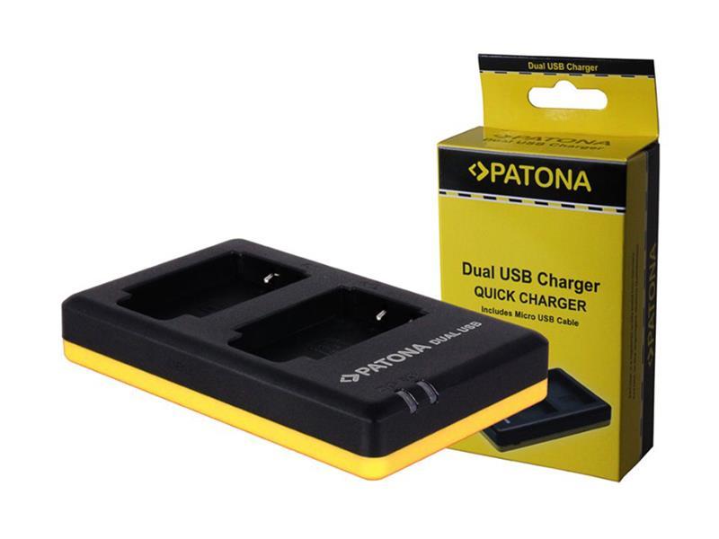 Nabíječka foto CANON LP-E17 USB PATONA PT1939