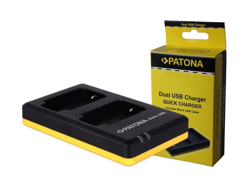 Nabíječka foto SONY NP-BG1 USB dual PATONA PT1940