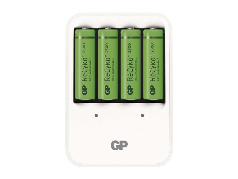 Nabíječka baterií GP PB420 + 4xAA Recyko+ 25000