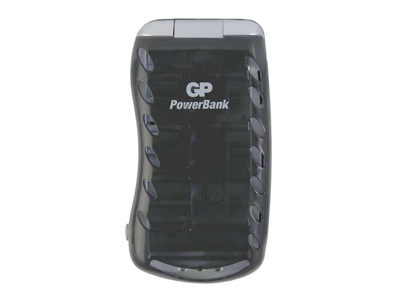 Nabíječka baterií GP PB19 univerzální