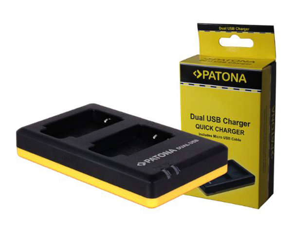 Nabíječka NIKON EN-EL15 USB PATONA PT1965