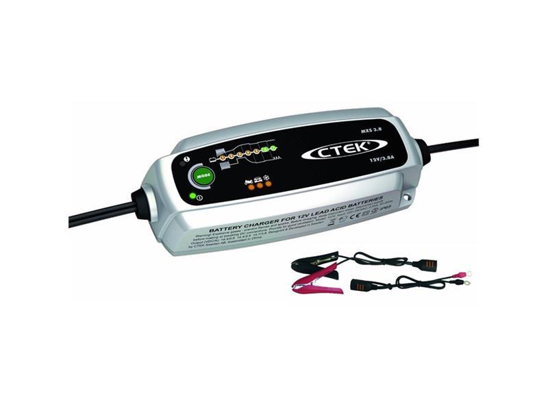 Nabíječka autobaterií CTEK MXS 3.8, 12V, 0,8/3,8A, 1,2-80/130Ah