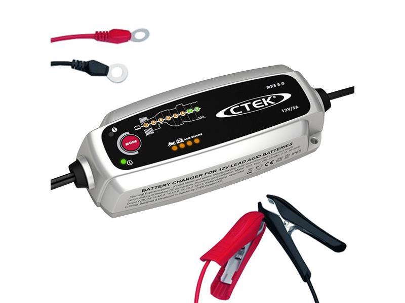 Nabíječka autobaterií CTEK MXS 5.0 12V 0.8A/5A s teplotním čidlem