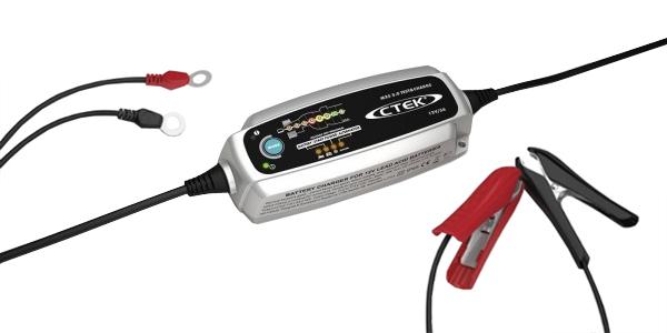 Nabíječka autobaterií CTEK MXS 5.0 TEST&CHARGE 12V, 5A, 1,2-110AH/160 AH