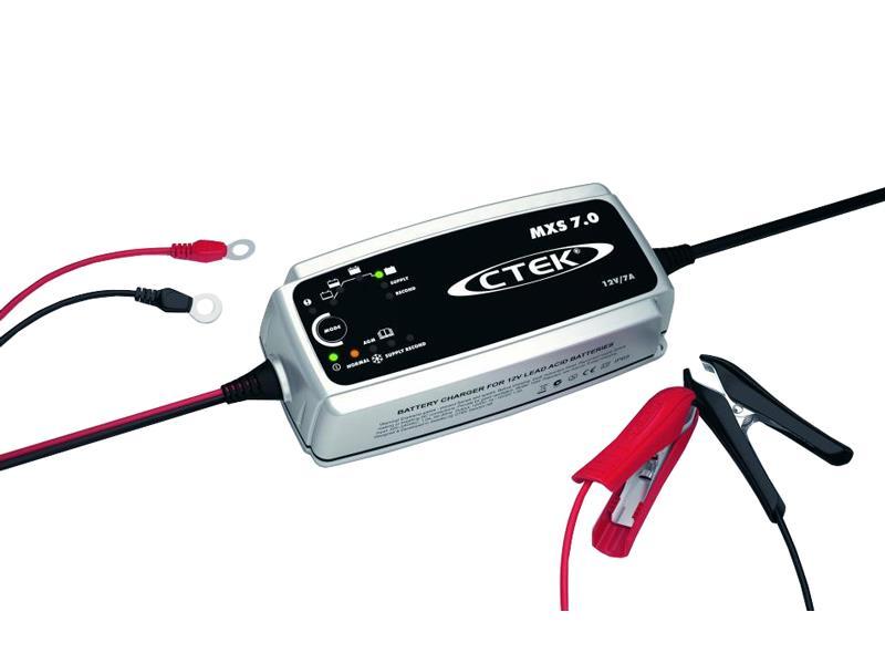 Nabíječka autobaterií CTEK MXS 7.0, 12V, 7A