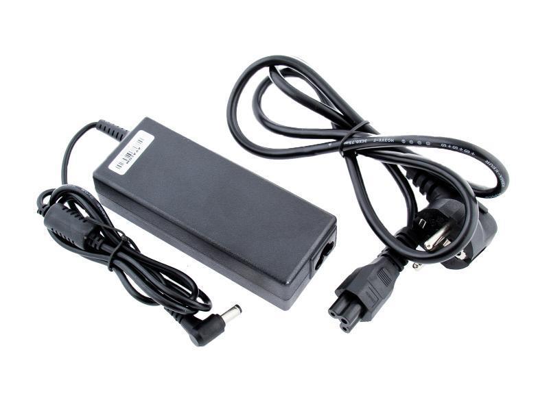 Nabíjecí adaptér pro notebook 19V 4,74A 90W zahnutý konektor 5,5mm x 2,5mm AVACOM