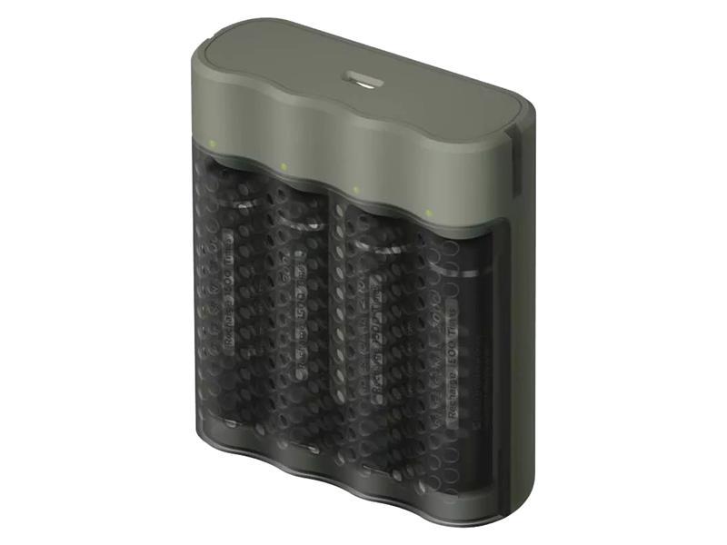 Nabíječka baterií GP Speed M451 + 4xAA ReCyko Pro