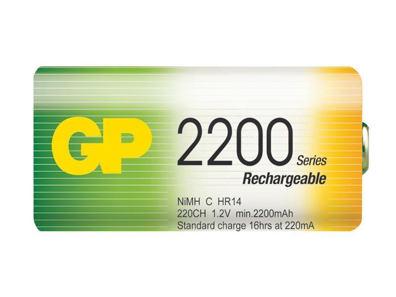 Baterie GP 2200mAh C 2ks