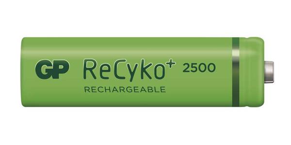 Baterie AA (R6) nabíjecí 1,2V/2500mAh GP Recyko+