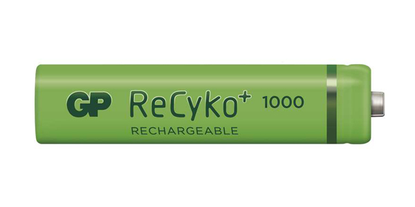 Baterie AAA (R03) nabíjecí GP Recyko+ 1000mAh