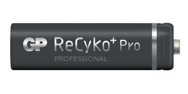Baterie AA (R6) nabíjecí 1,2V/2000mAh GP Recyko+ Pro