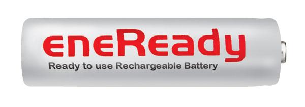 Baterie AA (R6) nabíjecí EneReady 2200mAh