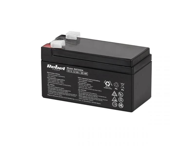 Baterie olověná 12V/ 1.3Ah MaxPower