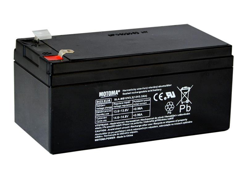 Baterie olověná 12V   3.2Ah MOTOMA