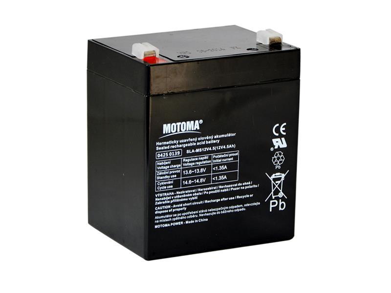Baterie olověná 12V   4.5Ah MOTOMA
