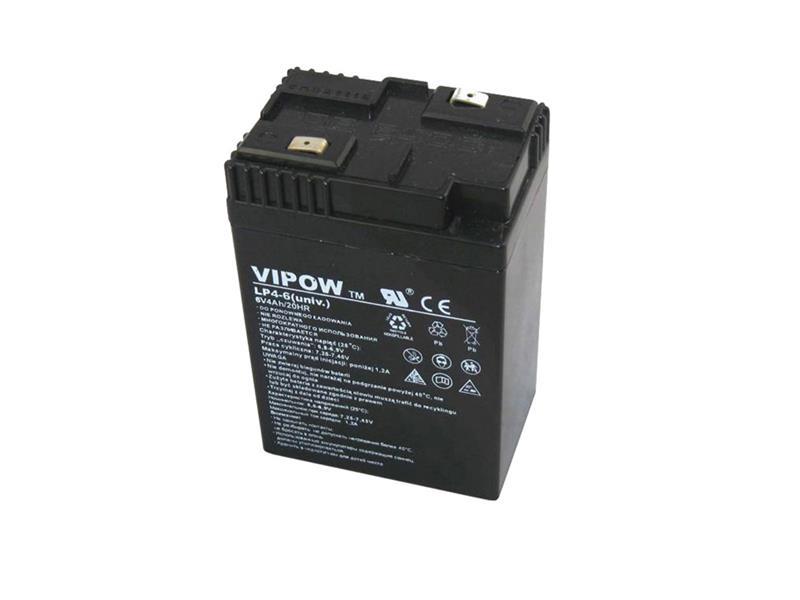 Baterie olověná  6V  4.0Ah VIPOW