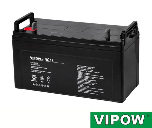 Baterie VIPOW 12V/120Ah