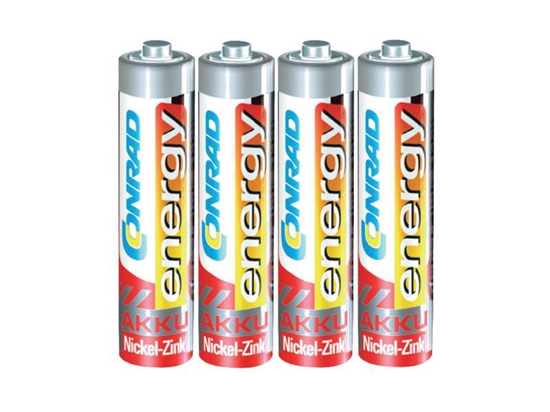 Baterie CONRAD NiZn 550mAh AAA 4ks