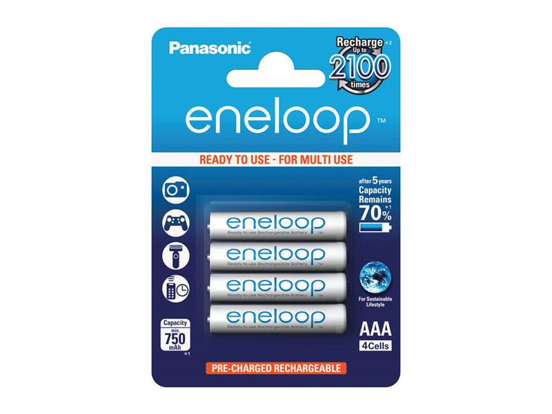 ENELOOP AAA 4x 2100 PANASONIC 4MCCE/4BE nabíjecí