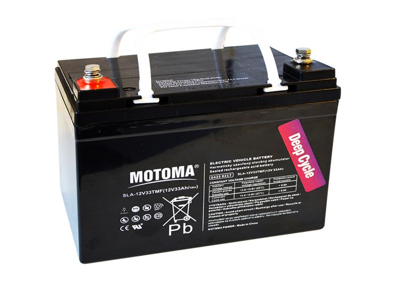 Baterie olověná 12V  33Ah MOTOMA pro elektromotory