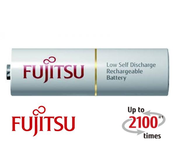 Baterie AA (R6) nabíjecí FUJITSU bulk 2100 cyklů