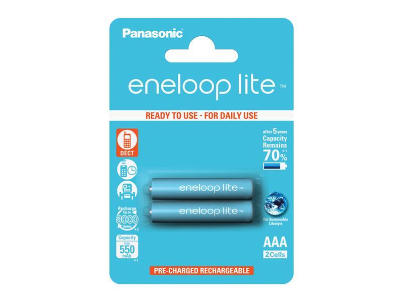 Baterie 4LCCE/2BE ENELOOP LITE AAA 2x PANASONIC nabíjecí