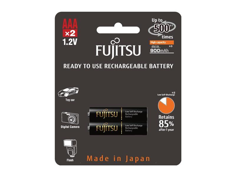 Baterie HR-4UTHCEX-2B BLACK PROFI AAA 2x FUJITSU nabíjecí