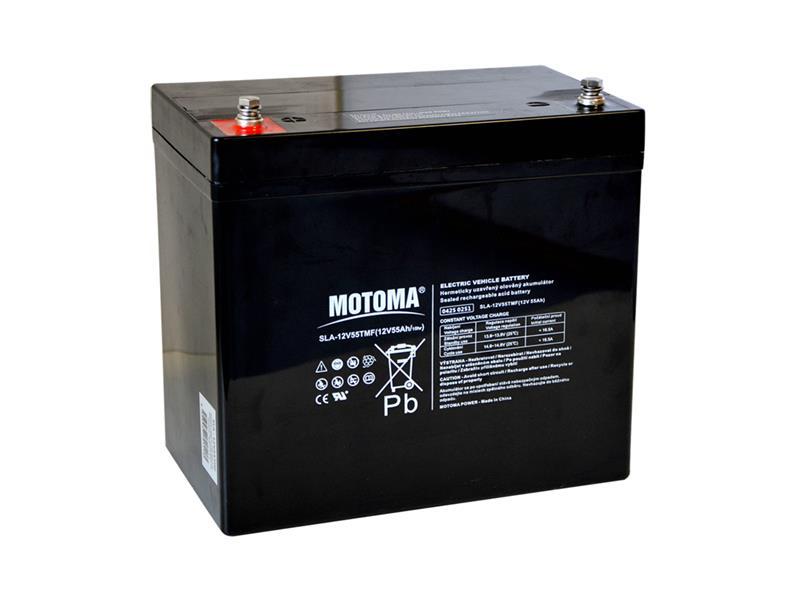 Baterie MOTOMA 12V55TMF 12V/55Ah