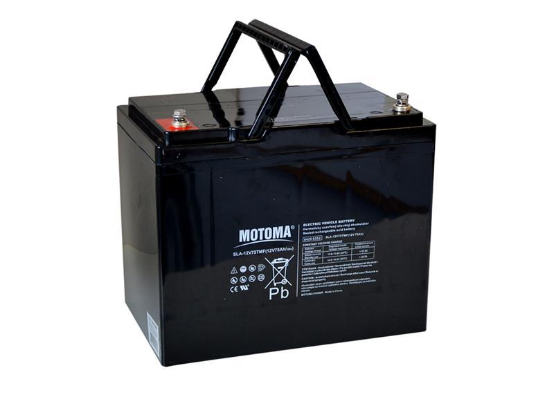 Baterie MOTOMA 12V75TMF 12V/75Ah (04250252)