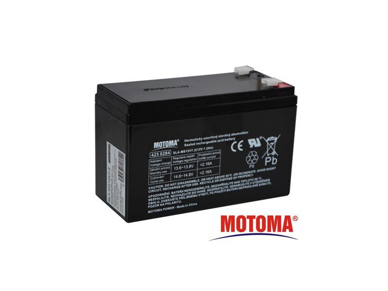 Baterie olověná 12V 7,2Ah MOTOMA