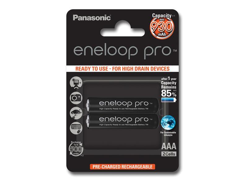 Baterie AAA (R03) nabíjecí 1,2V/930mAh Eneloop PANASONIC 2ks
