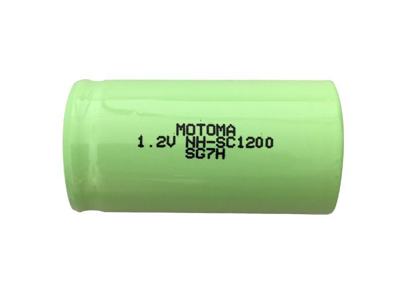 Baterie nabíjecí NiMh SC 1,2V/1200mAh MOTOMA