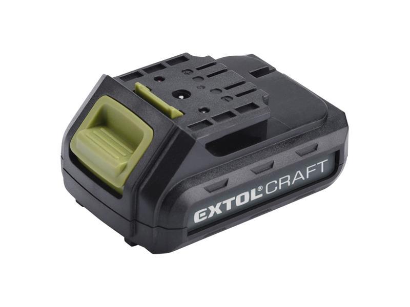 Baterie akumulátorová 12V, Li-ion, 1300mAh, EXTOL CRAFT
