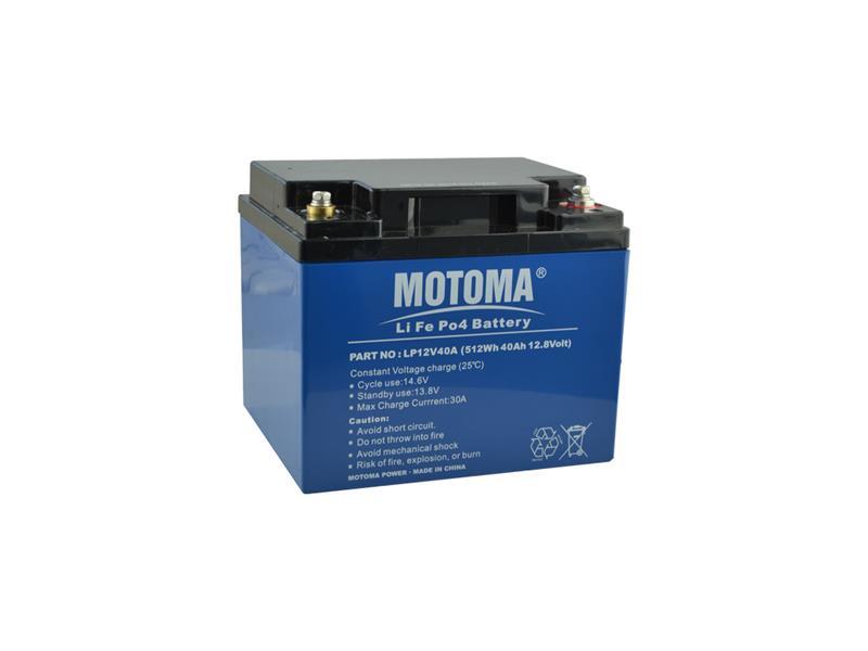 Baterie LiFePO4 12V/40Ah MOTOMA pro soláry