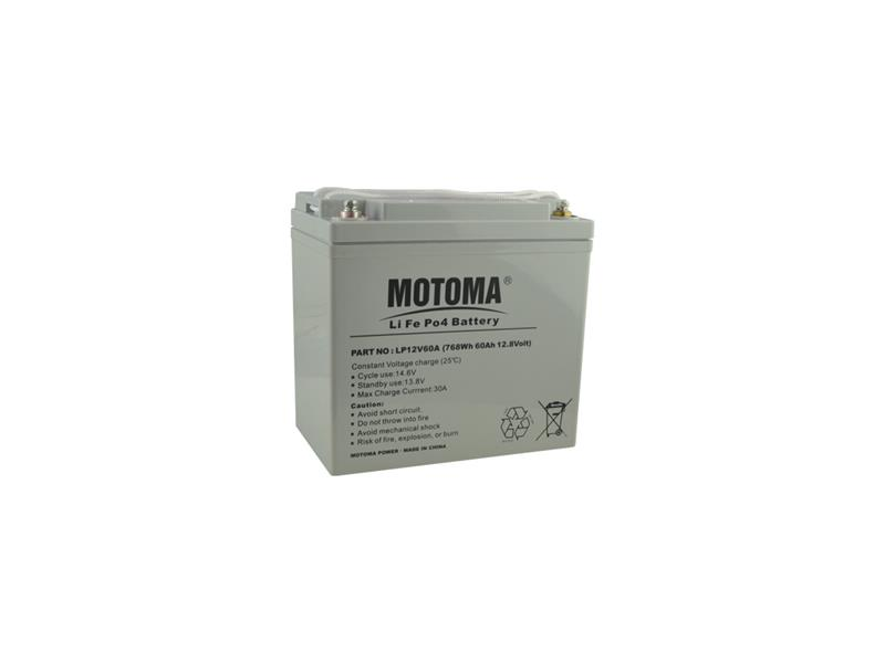 Baterie nabíjecí LiFePO4 12V/60Ah MOTOMA