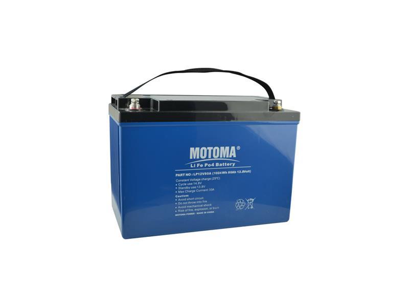 Baterie LiFePO4 12V/80Ah MOTOMA