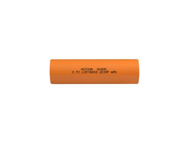 Baterie nabíjecí Li-Ion 18650 3,7V 2200mAh 22A MOTOMA