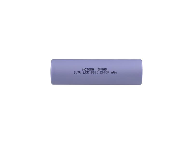 Baterie nabíjecí Li-Ion 18650 3,7V 2600mAh 5C MOTOMA