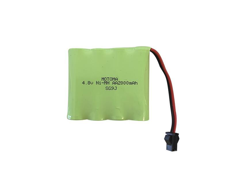 Baterie nabíjecí akupack Ni-MH 4,8V 2000mAh MOTOMA