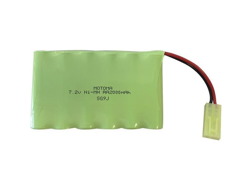 Baterie nabíjecí akupack Ni-MH 7,2V 2000mAh MOTOMA