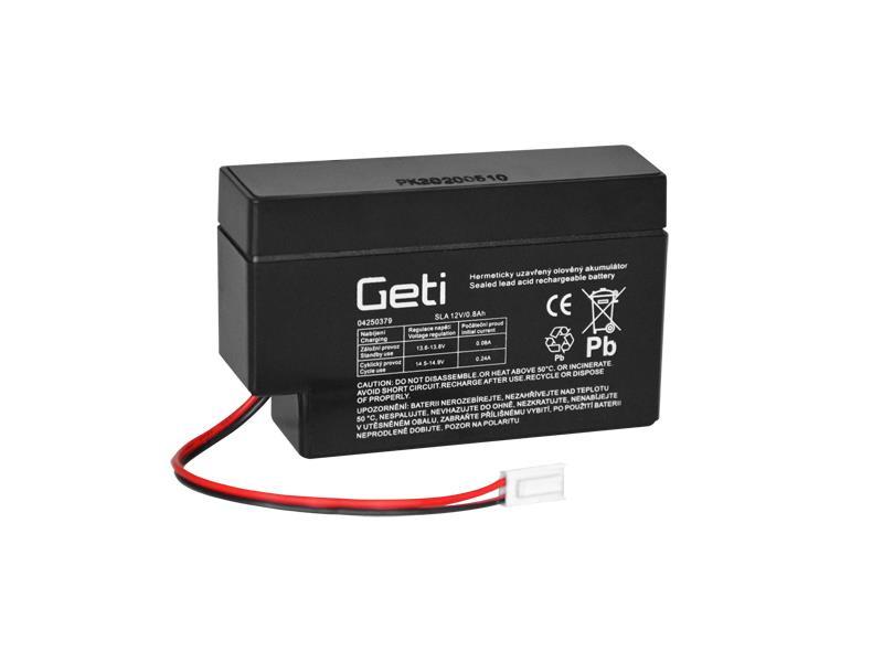 Baterie olověná 12V  0.8Ah Geti